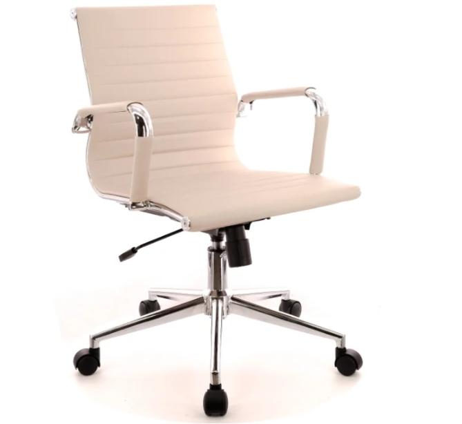 Компьютерное кресло Everprof Leo T офисное Бежевое