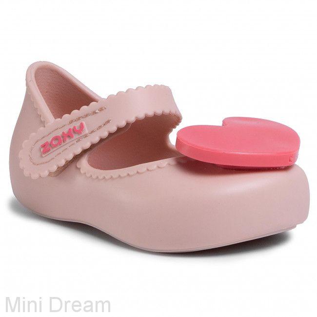 Туфли детские пудра