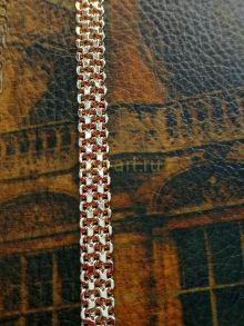 """Позолоченная цепочка, плетение """"кольчуга"""", 5 мм (250244)"""