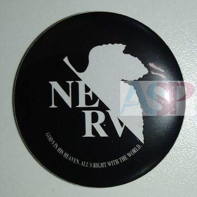 Значок (Средний 37 мм) Neon Genesis Evangelion