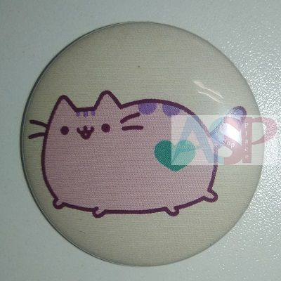 Значок (Средний 37 мм) Pusheen the cat