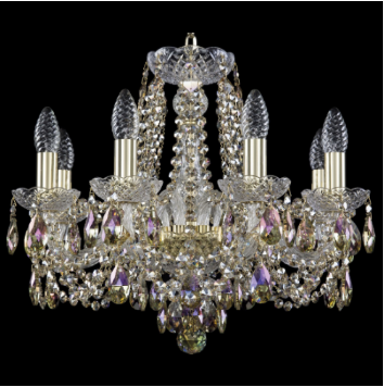 Подвесная люстра Bohemia Art Classic 11.11.8.165.Gd.Sp.R801 11.11
