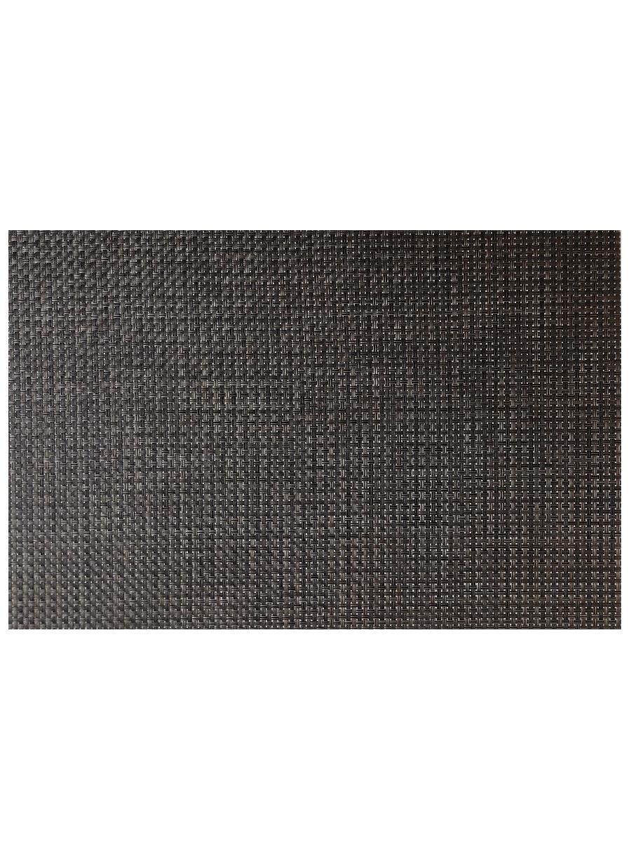 Термосалфетка кухонная плейсмат Dutamel салфетка сервировочная под ротанг темно-коричневая DTM-013 45*30 см - 1 шт