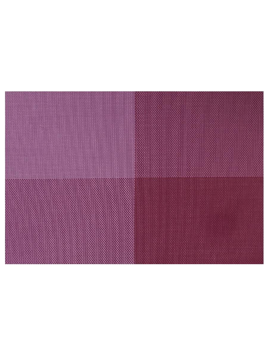 Термосалфетка кухонная плейсмат Dutamel салфетка сервировочная фиолетовые прямоугольники DTM-003 45*30 см - 1 шт