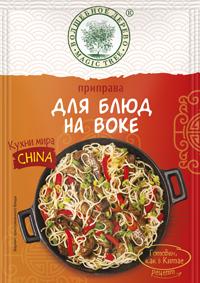 ВД Приправа Для блюд на воке Кухни Мира Китай 22 г