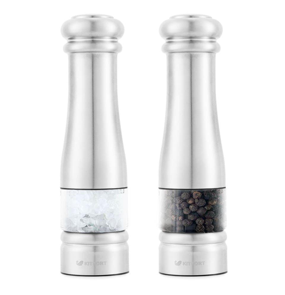 Набор автоматических мельниц для соли и перца KitFort KT-2030