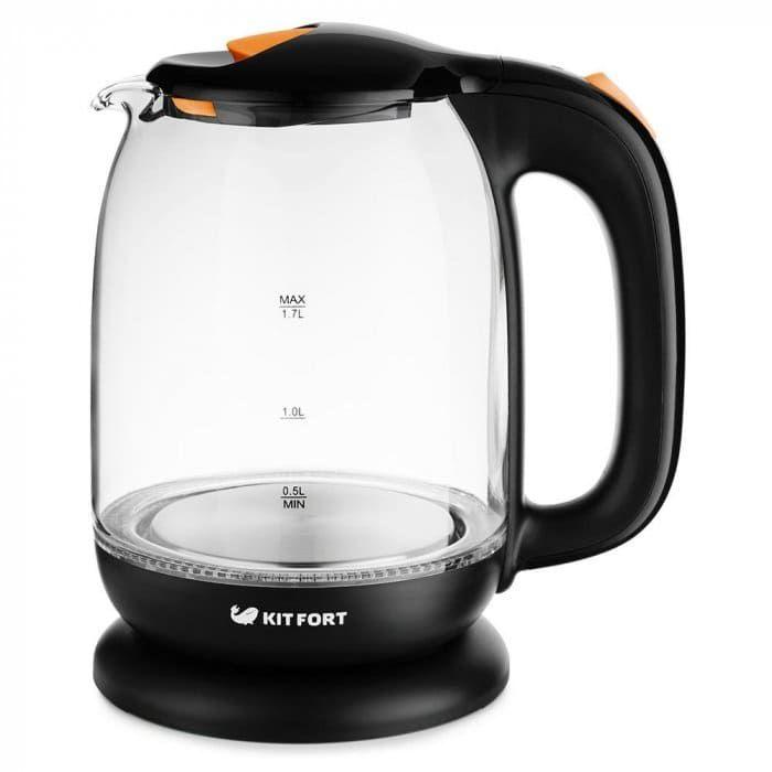 Чайник KitFort КТ-625-3 оранжевый