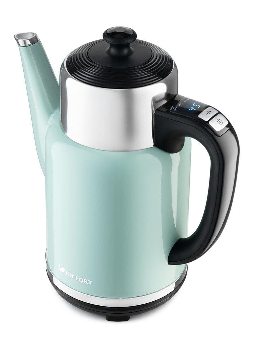 Чайник KitFort КТ-668-3 (зеленый)