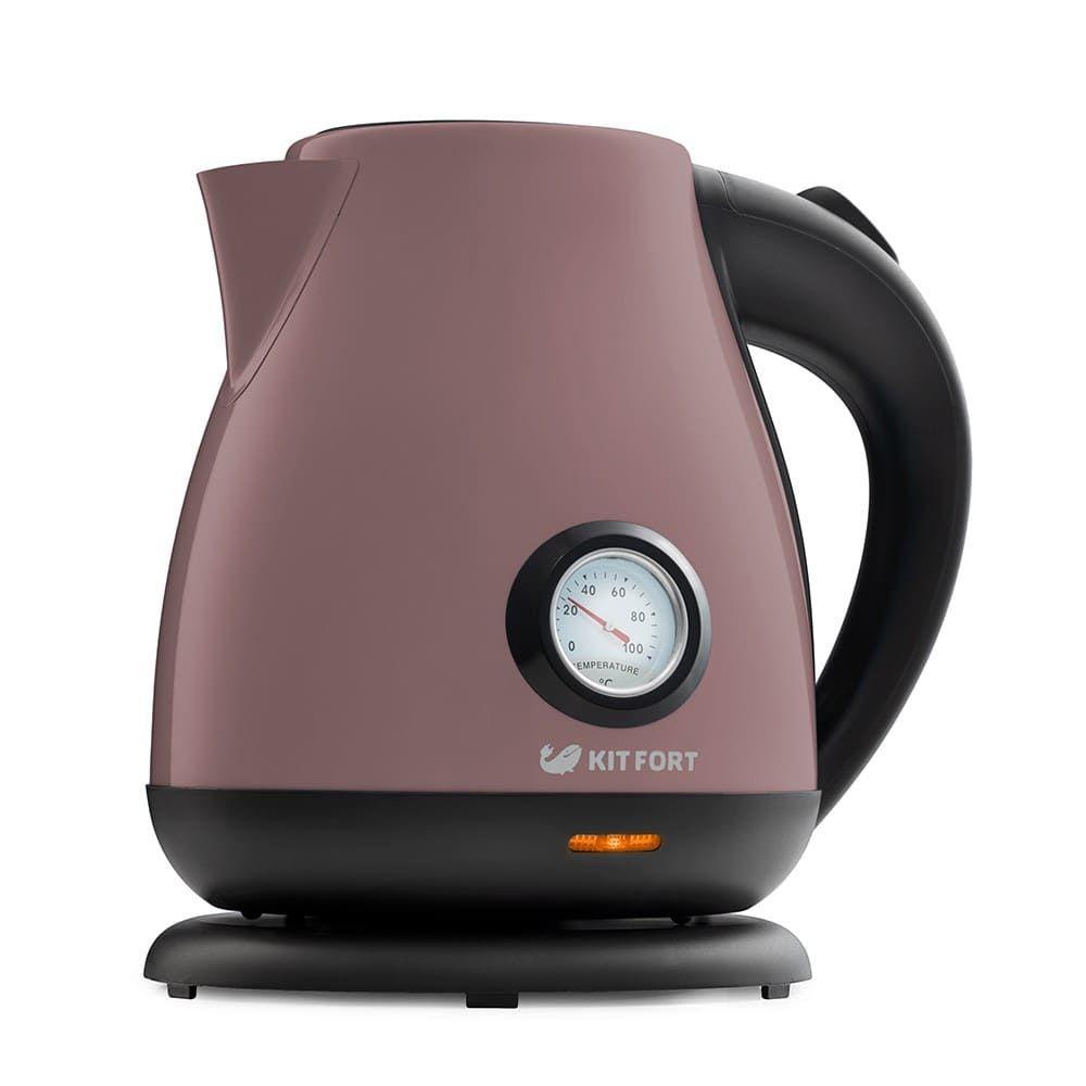 Чайник KitFort КТ-642-4 лиловый