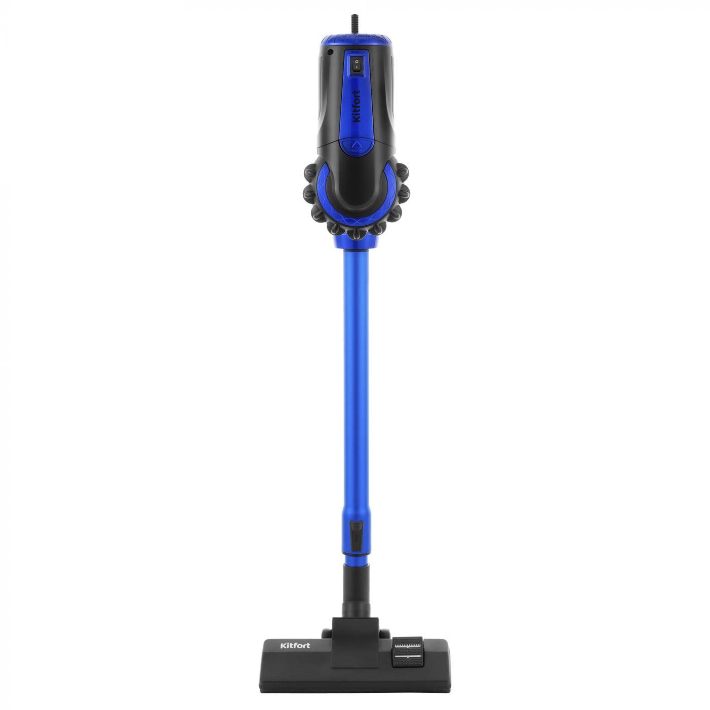 Вертикальный пылесос KitFort КТ-544-2 (синий)