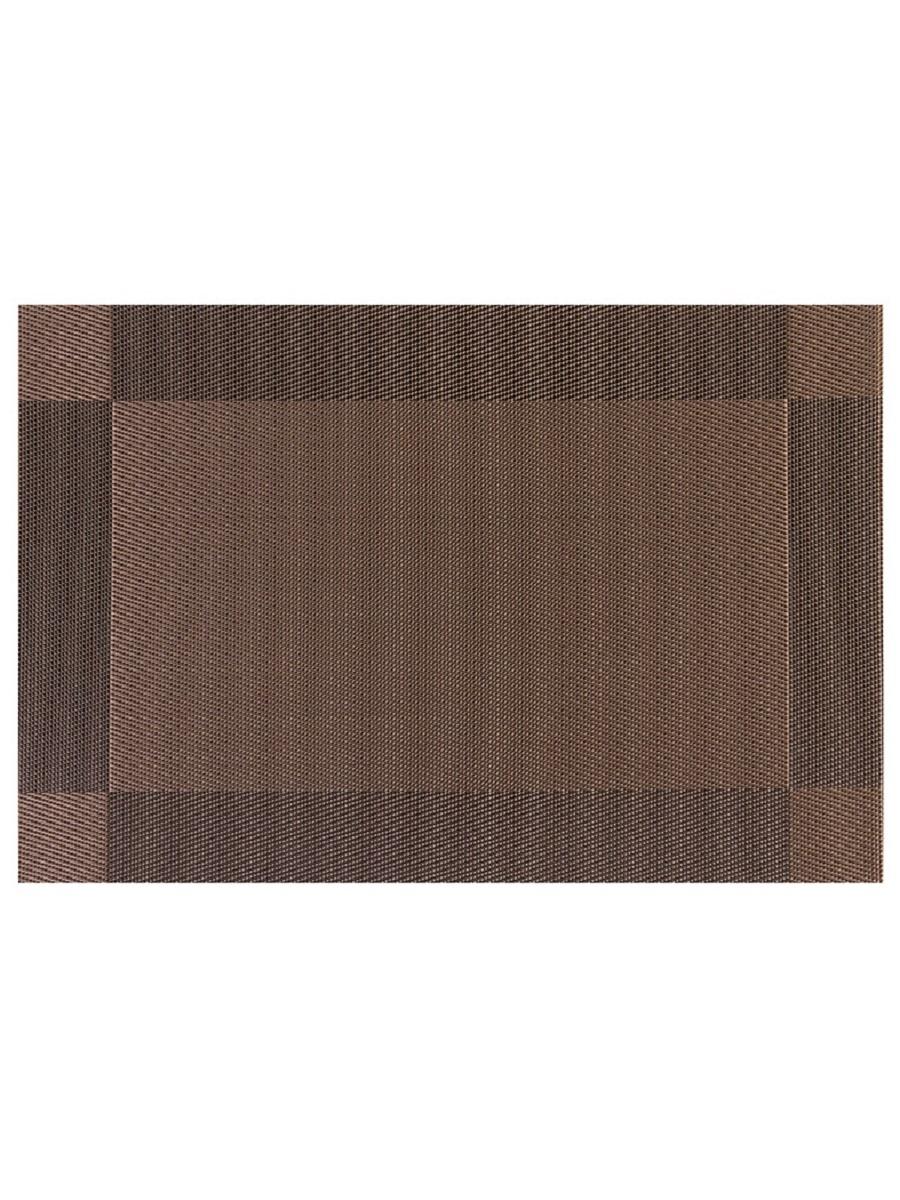 Термосалфетка кухонная плейсмат Dutamel салфетка сервировочная рамка коричневая DTM-006 45*30 см - 1 шт