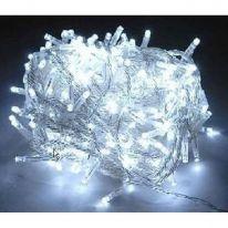 Светодиодная гирлянда  нить, 100 LED, 8м., белый холодный
