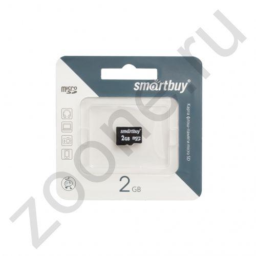 2GB microSD без адаптера SMARTBUY
