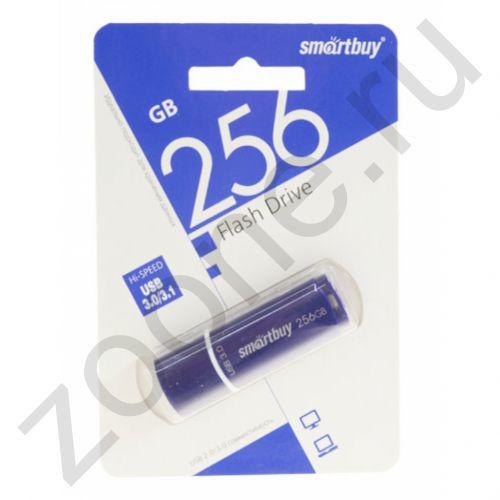 256GB USB 3.0 CROWN синий SMARTBUY