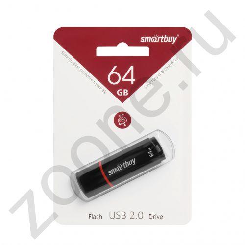 64GB USB CROWN черный SMARTBUY