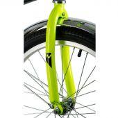 """Велосипед детский NOVATRACK ASTRA 20"""", черно-зеленый"""