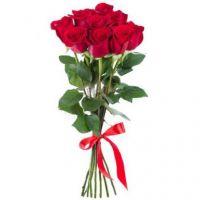 Классический букет из 9 красных роз