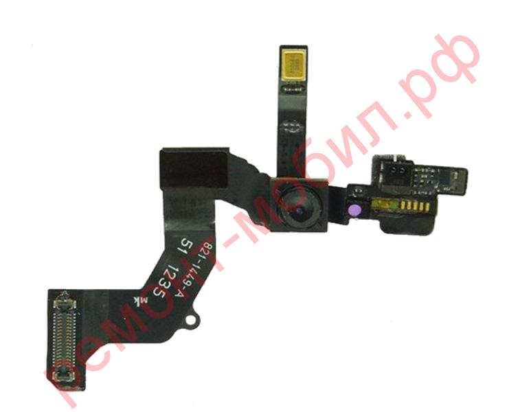 Шлейф для iPhone 5 с фронтальной камерой, микрофоном и датчиком света
