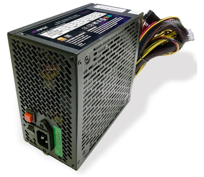 Блок питания HIPER HPB-700RGB BOX Черный