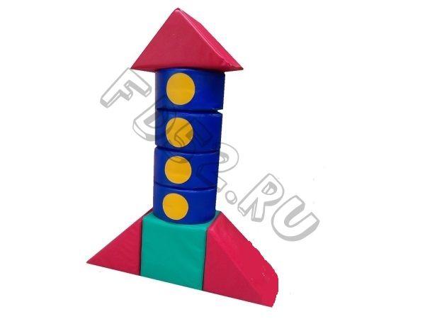 Конструктор «Ракета» 8 предметов