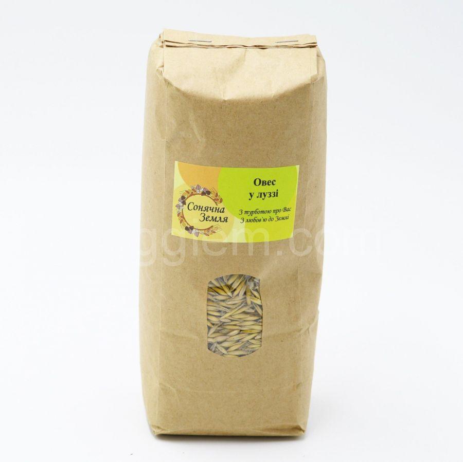 """Органический Овёс """"Солнечная Земля"""", 1 кг"""