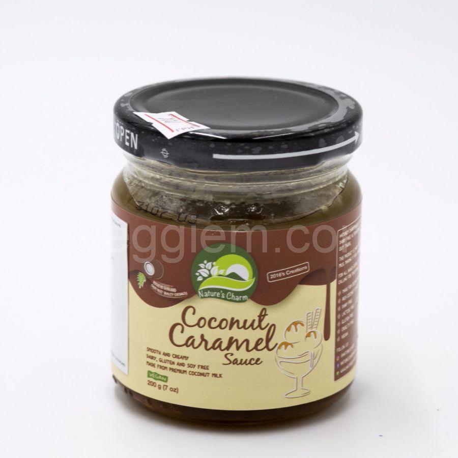 Карамельный кокосовый соус Natures Way,200 мл