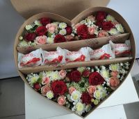 """Коробка сердце """"Ситцевое"""""""