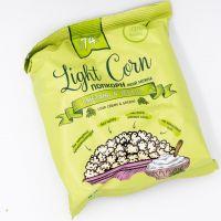 Попкорн сметана и зелень на кокосовом масле ,20 грамм