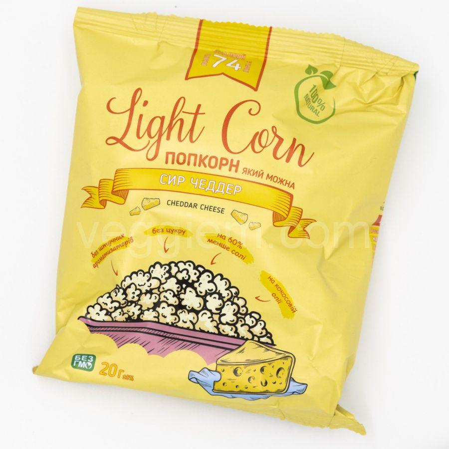 Поп Корн с сыром на кокосовом масле ,20 грамм