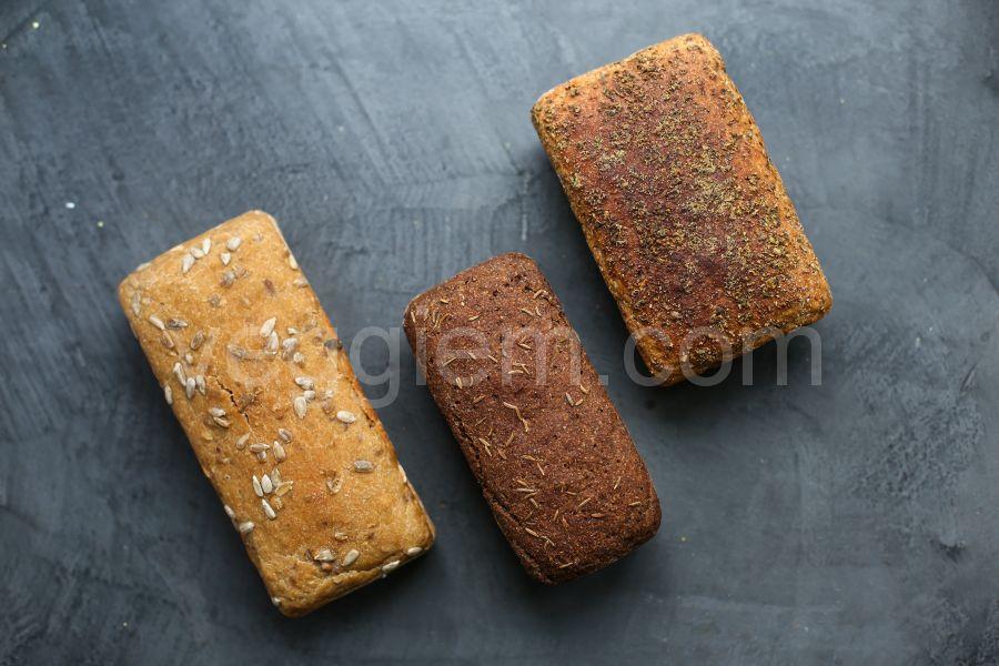 """Хлеб на закваске """"Кукурузный"""",400 грамм и 250 грамм"""