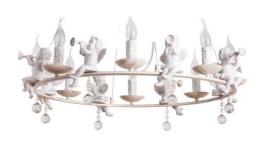 Подвесная люстра Arte Lamp A1133SP-8WG Amur