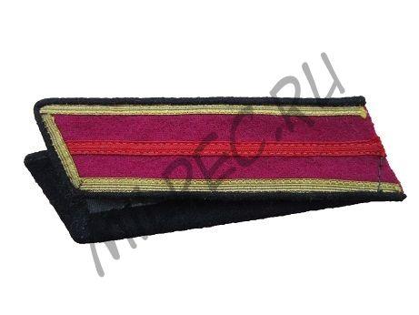 Петлицы на гимнастерку старшин пехоты РККА, на начало войны (реплика)