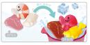 продукты меняют цвет в теплой воде