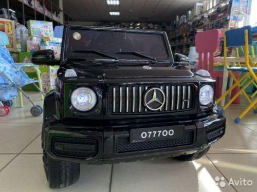 Mercedes Benz Gelendwagen 63 чёрный глянец