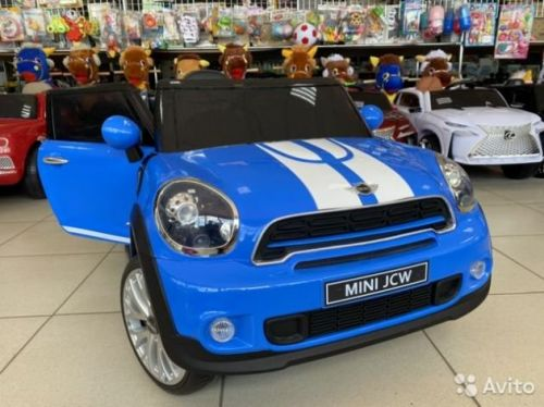 Электромобиль Mini Cooper лицензия