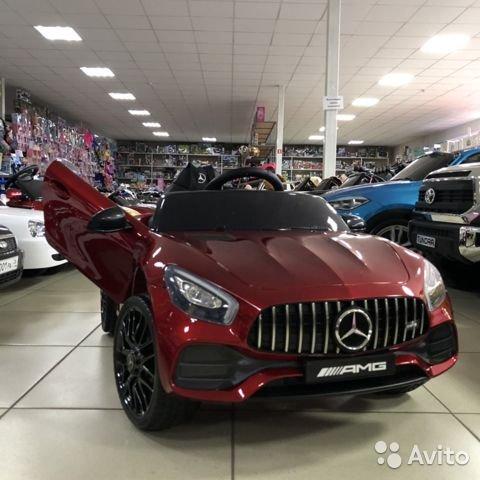 Электромобиль Mercedes GT 63 AMG лицензия