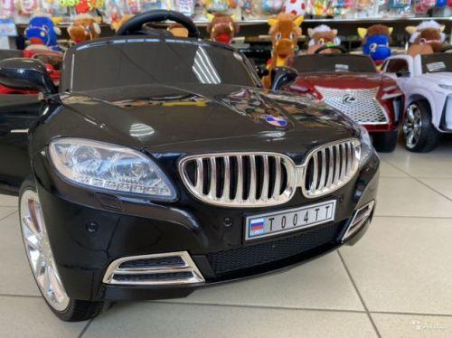 Электромобиль BMW T004TT резиновые колёса