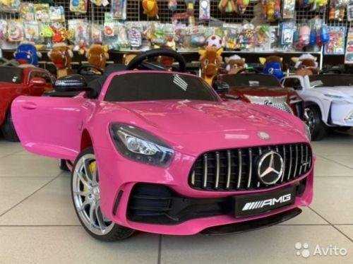 Электромобиль Mercedes GTR лицензия