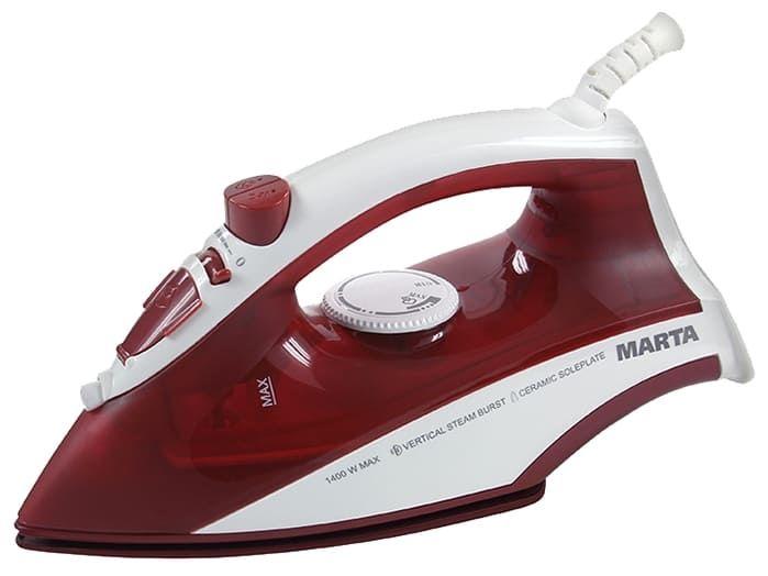 Утюг MARTA MT-1129 (new) красная яшма