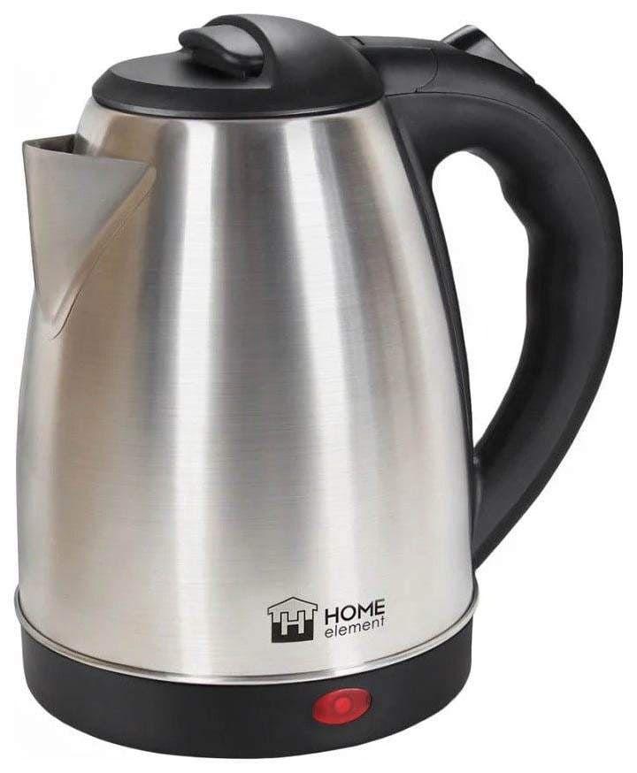 Чайник HOME ELEMENT HE-KT183 черный/сталь