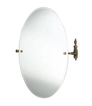 Зеркало Tiffany World Retro Opal TWOP021br круглое 56х66 ФОТО