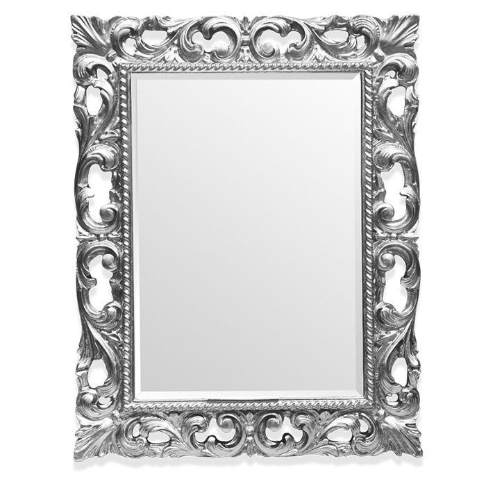 Зеркало Tiffany World TW03427arg.brillante в раме 75х95 ФОТО