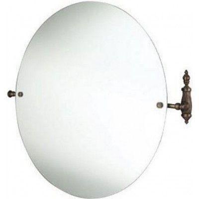 Зеркало Tiffany World Retro Opal TWOP023br круглое 68х66 ФОТО