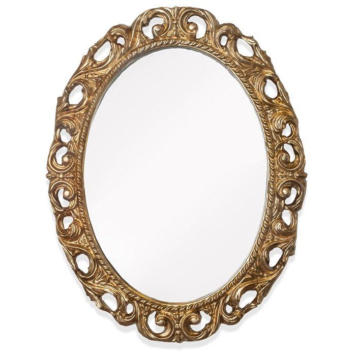 Зеркало Tiffany World TW03642oro в раме 72х92 ФОТО