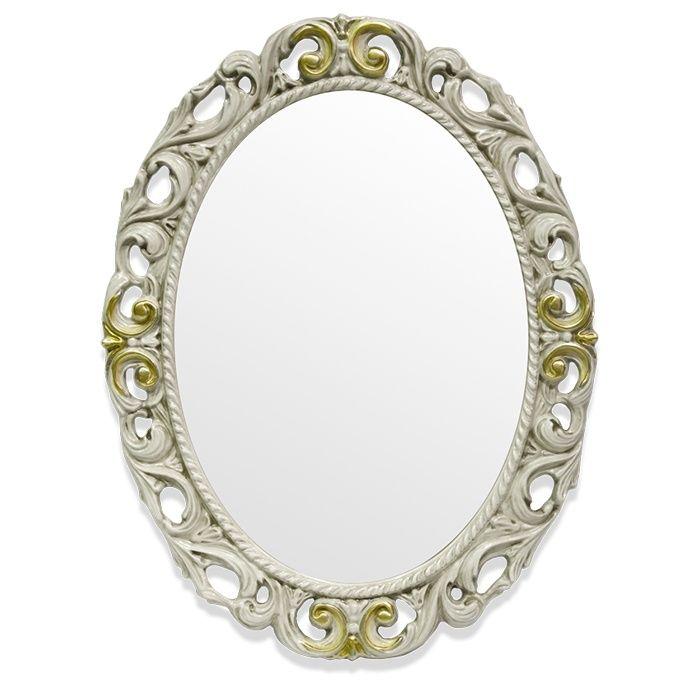 Зеркало Tiffany World TW03642avorio/oro в раме 72х92 ФОТО
