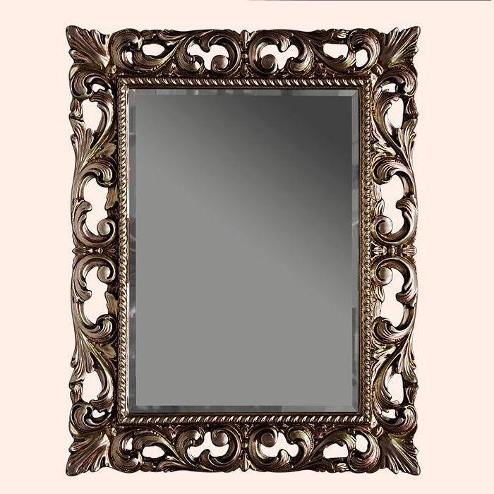 Зеркало Tiffany World TW03427arg.antico в раме 75х95 ФОТО