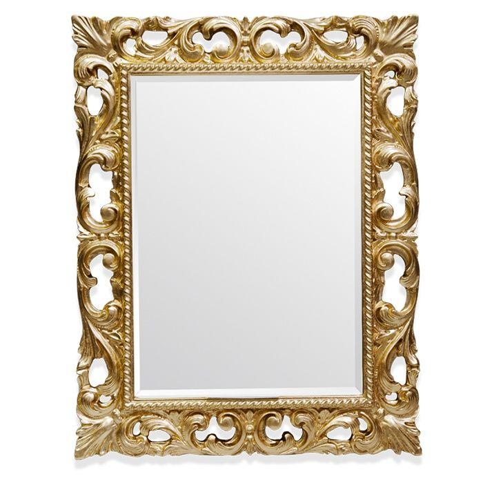 Зеркало Tiffany World TW03427oro.brillante в раме 75х95 ФОТО