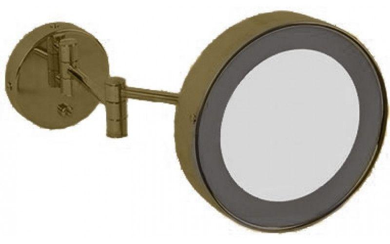 Зеркало c подсветкой Migliore Complementi ML.COM.BR-50.336.BR бронза ФОТО