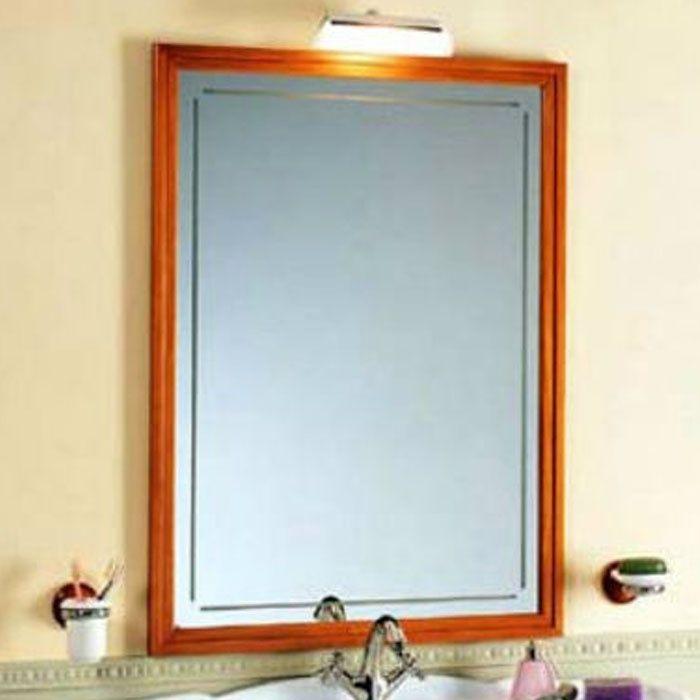 Зеркало Tiffany World 71025noce biondo в раме 75х102 ФОТО