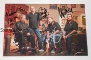 Автографы: Рик, Кори, Ричард Харрисон, Chumlee. Звёзды ломбарда / Pawn Stars